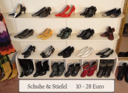 Second Hand Schuhe und Stiefel